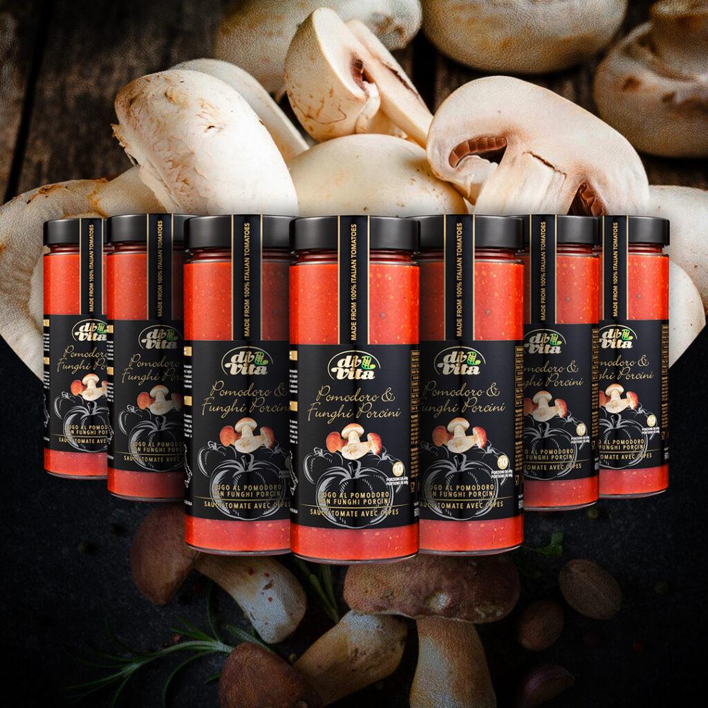 Sughi Di Vita   Pomodoro e Funghi Porcini